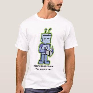 Revisão Indie da história em quadrinhos - camisa