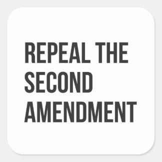 Revogue a segunda alteração - folha das etiquetas