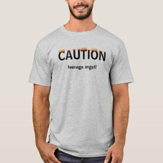 Revolta adolescente camiseta