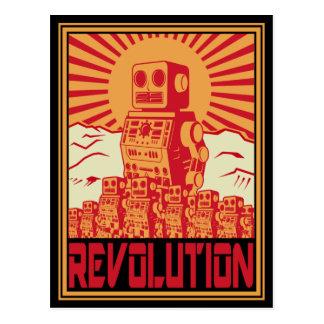 Revolta do robô cartão postal