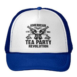 Revolução americana do tea party boné