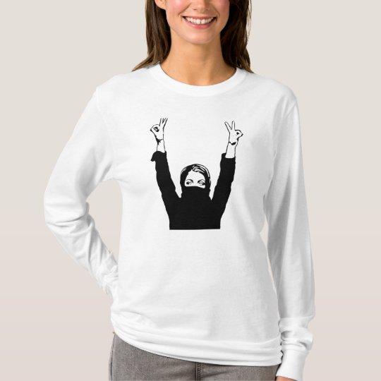 revolução arabe camiseta