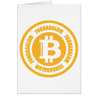 Revolução de Bitcoin versão húngara Cartão