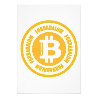 Revolução de Bitcoin versão húngara Convite Personalizado