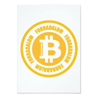Revolução de Bitcoin (versão húngara) Convite Personalizado