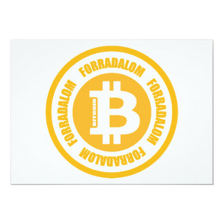 Revolução de Bitcoin (versão húngara) Convite Personalizados