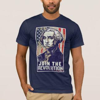 Revolução de George Washington Camiseta