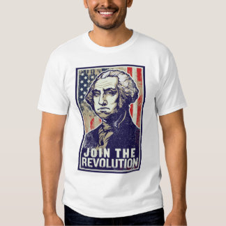 Revolução de George Washington T-shirts