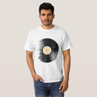 """Revolução do """"registro"""" #1 do vinil descorante camiseta"""