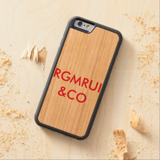 RGMRUI CAPA DE CEREJA BUMPER PARA iPhone 6