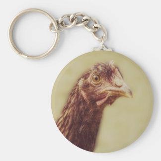 Rhode - franga vermelha da ilha - imagem da galinh chaveiro