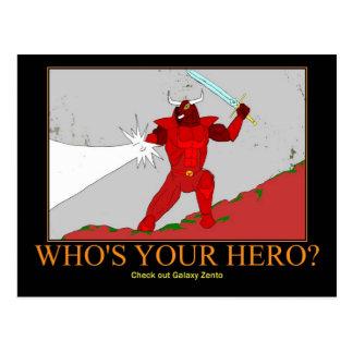 Rhok vermelho o cartão de Minotaur