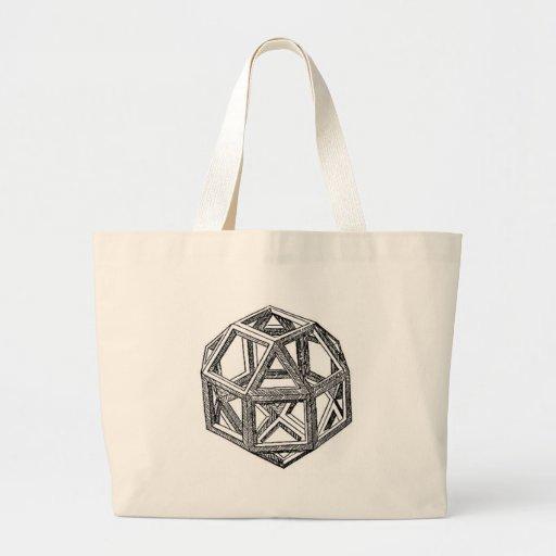 Rhombicuboctahedron, Leonardo da Vinci Bolsa Para Compra