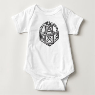 Rhombicuboctahedron, Leonardo da Vinci T-shirts