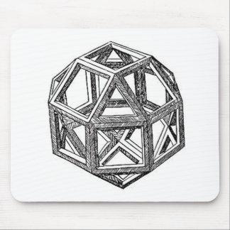 Rhombicuboctahedron, Leonardo da Vinci Mousepad