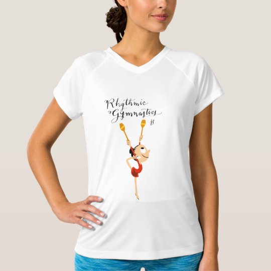 Rhythmic Gymnastics t-shirt Camiseta