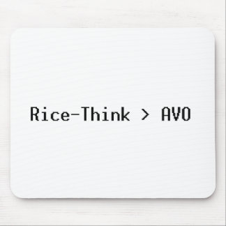 Rice-Think>AVO Mousepad