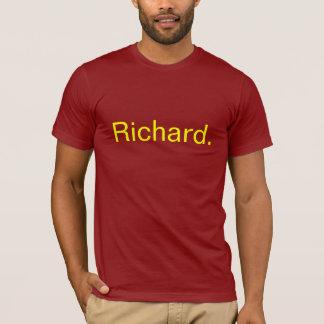 Richard. Camiseta