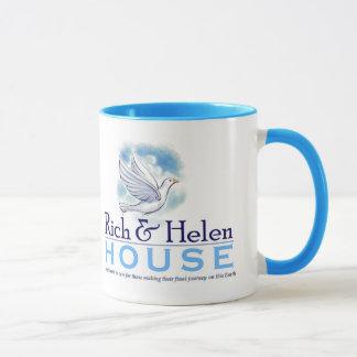 Ricos e caneca da casa de Helen