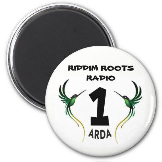 Riddim enraíza a imã de geladeira de Arda do rádio