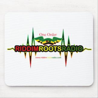 Riddim enraíza Mousepad de rádio
