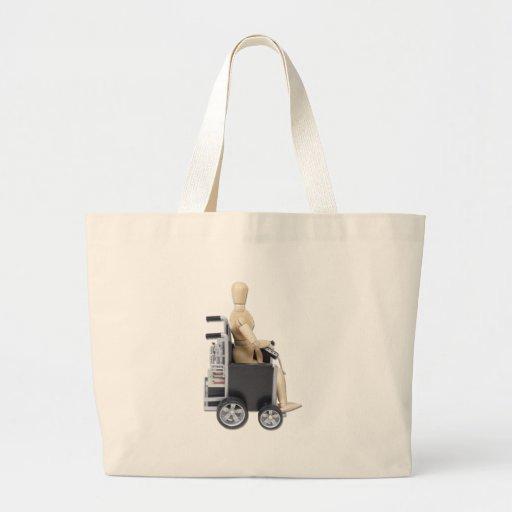 RidingElectricWheelchair Bolsas Para Compras