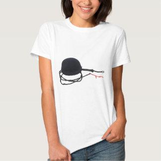 RidingHatWhip072509 T-shirts
