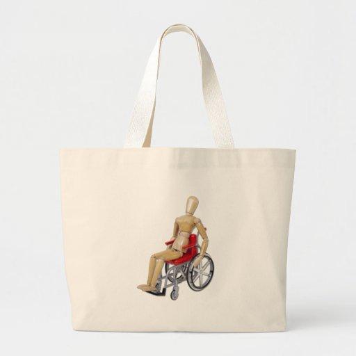 RidingRedWheelchair Bolsa