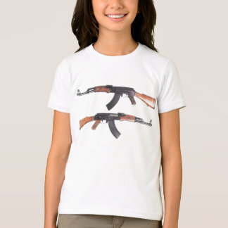 RIFLE DE AK-47 CAMISETA