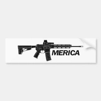 Rifle de América Adesivo Para Carro