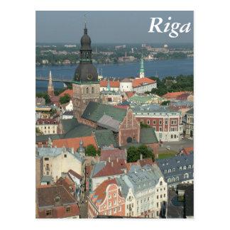 Riga, Latvia Cartão Postal