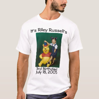 riley russell ó camiseta