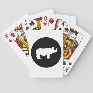 Rinoceronte Baralhos