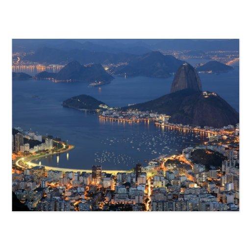 Rio de Janeiro, Brasil Cartao Postal