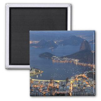 Rio de Janeiro, Brasil Ímã Quadrado