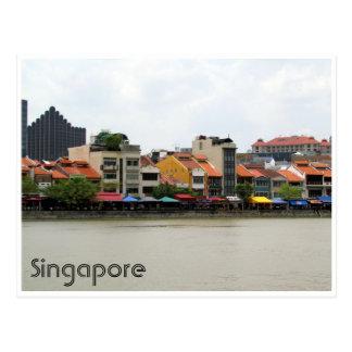 rio de singapore cartão postal