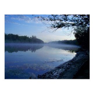 Rio espanhol, Massey, Ontário, cartão de Canadá