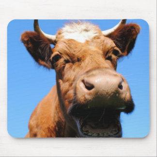 Rir vaca mouse pad