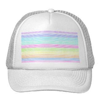 Riscas coloridas boné