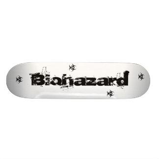 Risco, Biohazard Sk8board Shape De Skate 18,7cm