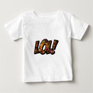 Riso para fora Bokeh alto de LOL Camiseta Para Bebê