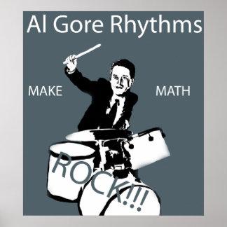 Ritmos de Al Gore Pôster