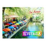 Riverwalk, San Antonio, Texas Cartões Postais