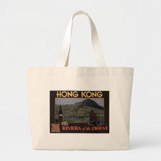 ~ Riviera de Hong Kong do Oriente Sacola Tote Jumbo