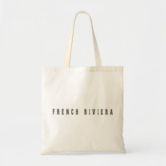 Riviera francês France Sacola Tote Budget