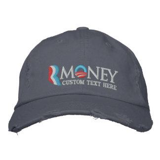 RMoney 2012 chapéus customizáveis da paródia Boné Bordado