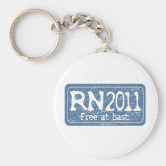 RN 2011 - Livre enfim Chaveiro