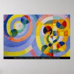 Robert Delaunay - formulários circulares Pôsteres