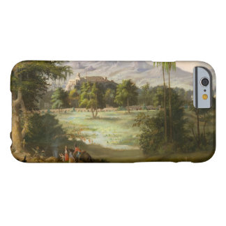 Robert Scott Duncanson - castelo de Chapultpec Capa Barely There Para iPhone 6