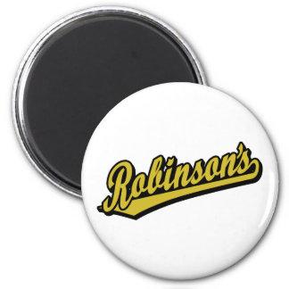 Robinson no ouro imas